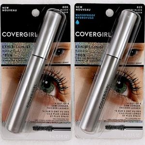 NWT Covergirl Exhibitionist Mascara Lot of 2 V BLK